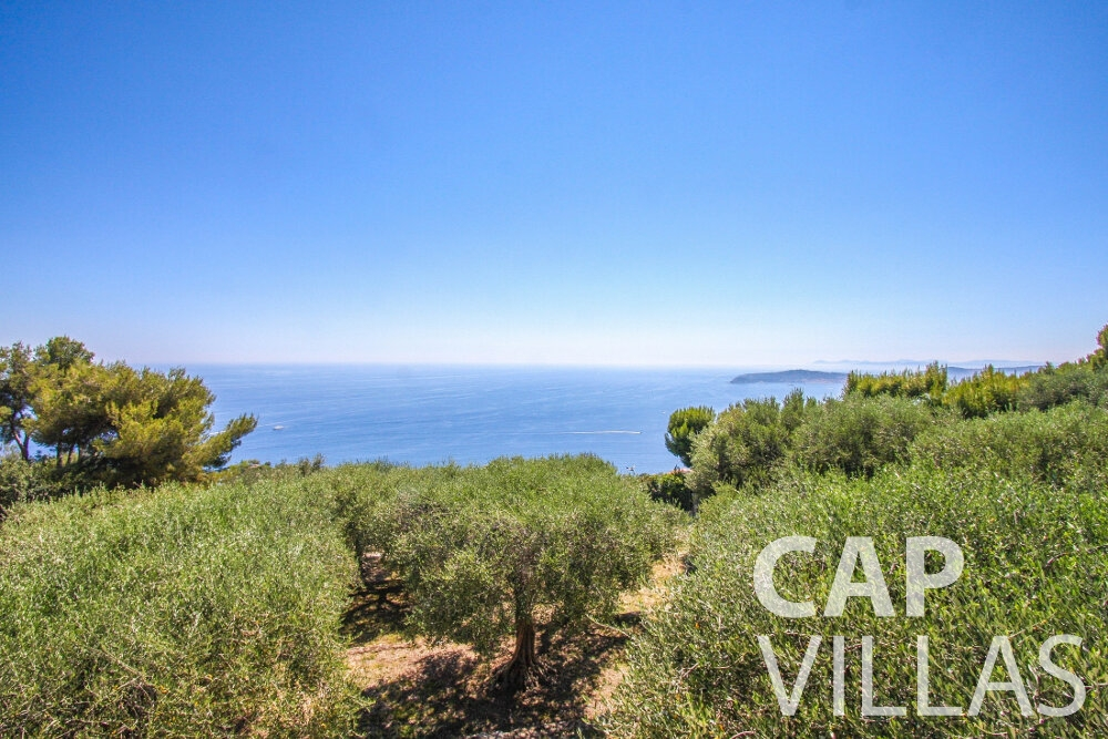 let Villa Camellia cap dail sea view