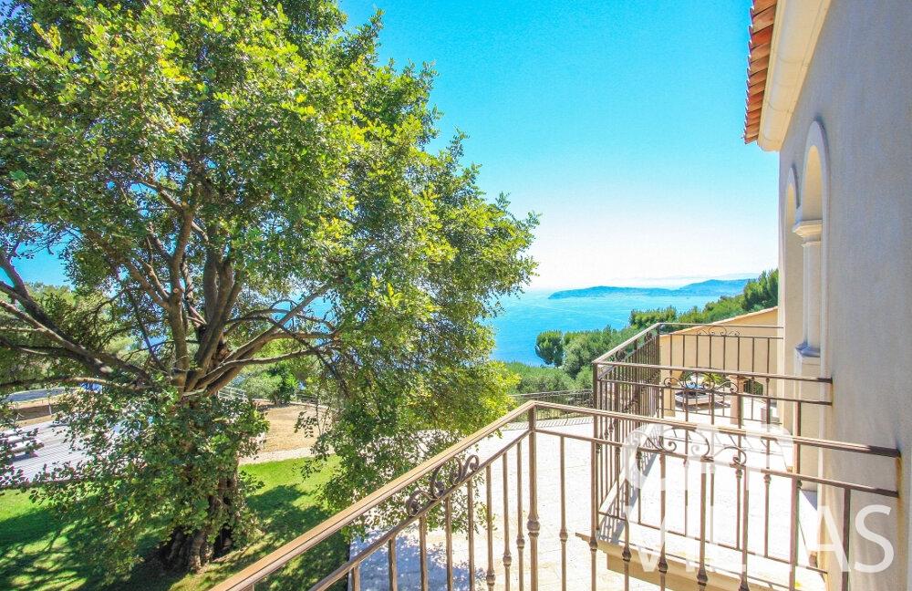 rent Villa Camellia cap dail balcony view
