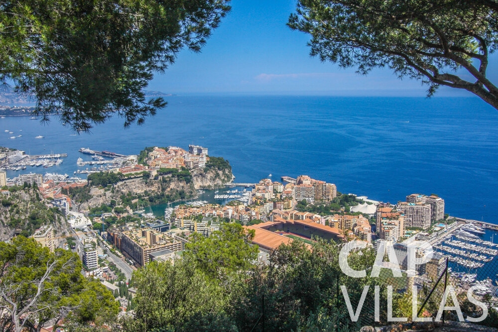 rent Villa Camellia cap dail sea view