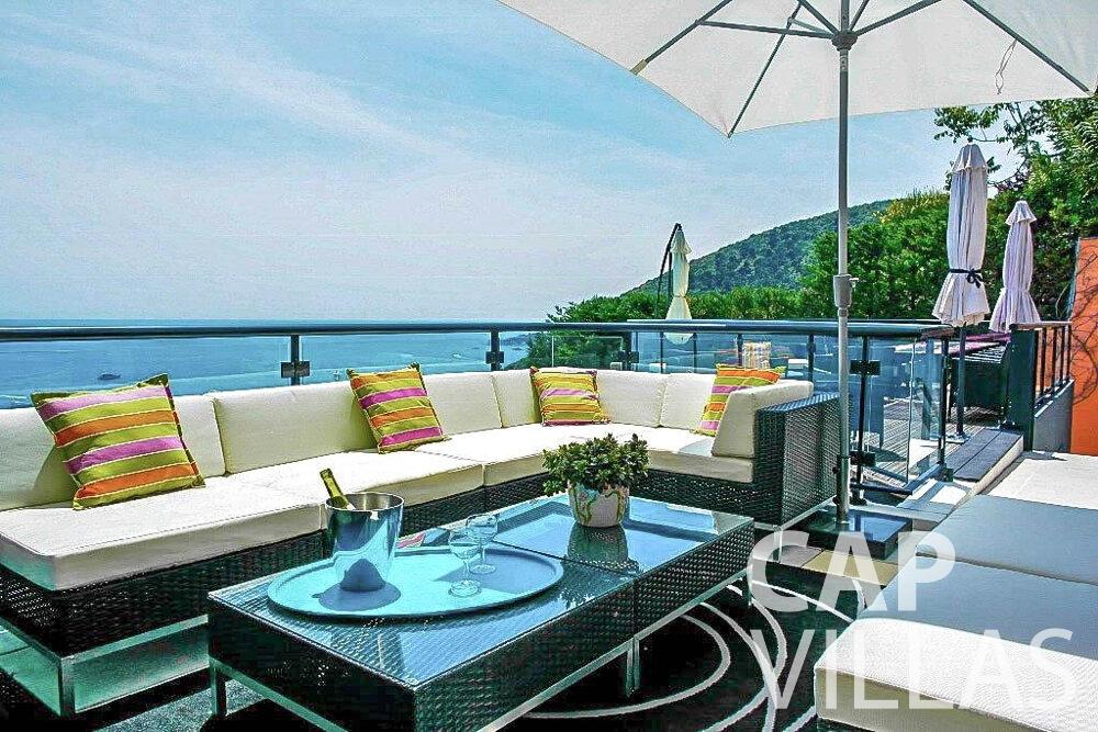 let Villa Gardenia eze balcony