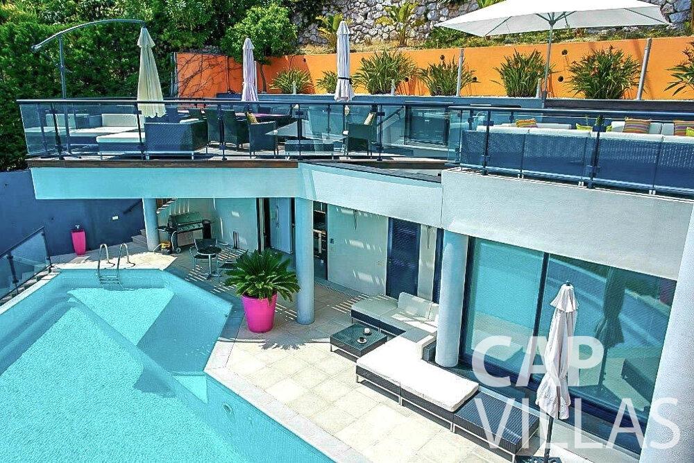 rent Villa Gardenia eze property