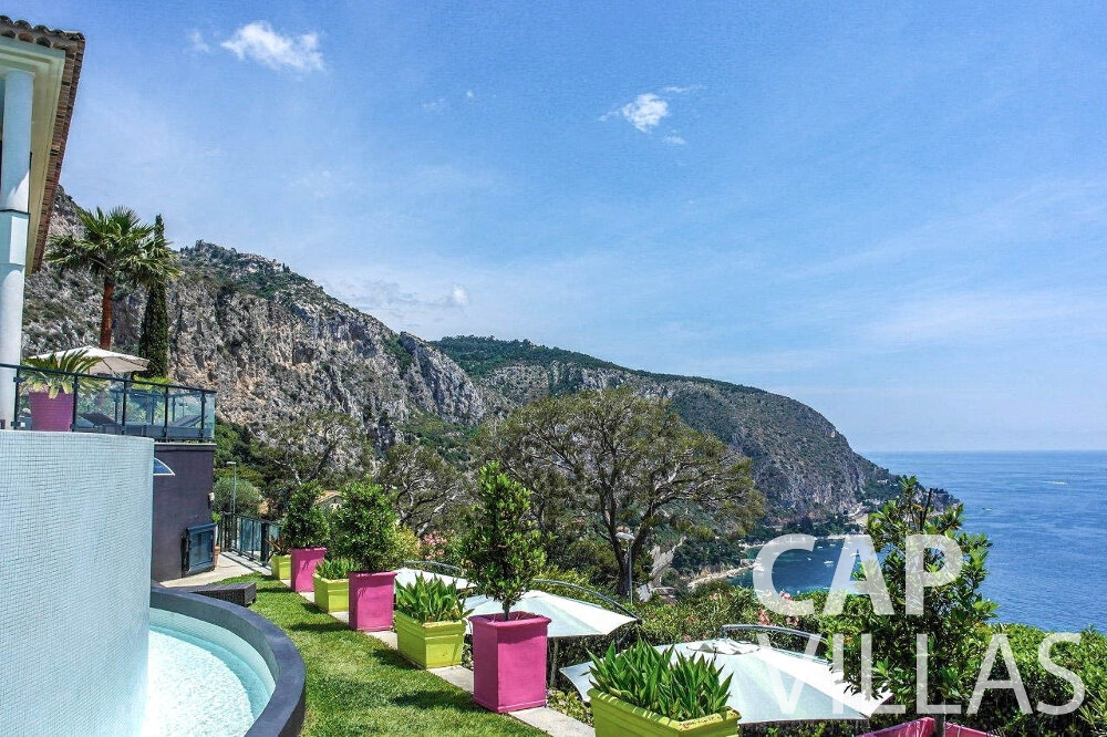 rent Villa Gardenia eze sea view