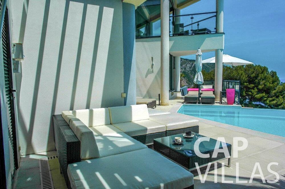 rent Villa Gardenia eze terrace