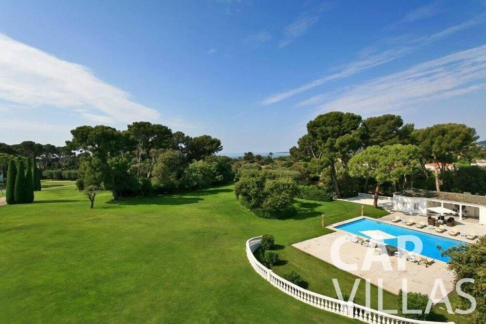 rent Villa Lila cap dantibes property