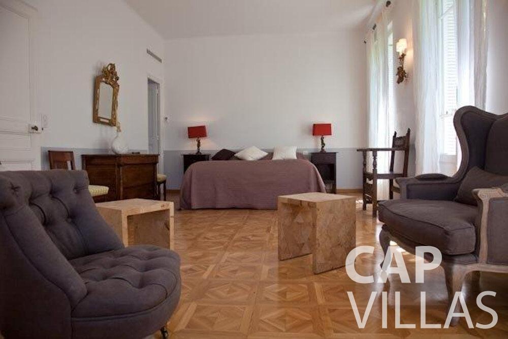 rent Villa Magnolia cap dantibes bedroom