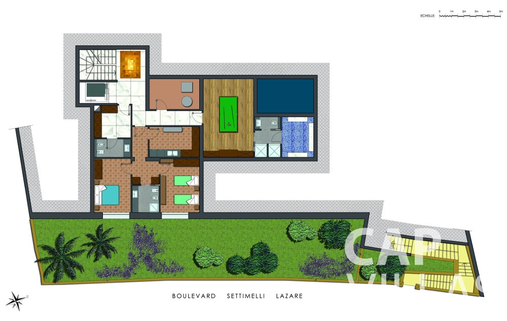 property for sale villefranche floorplan boulevard settimelli lazare underground