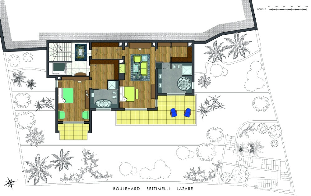villa for sale villefranche floorplan boulevard settimelli lazare