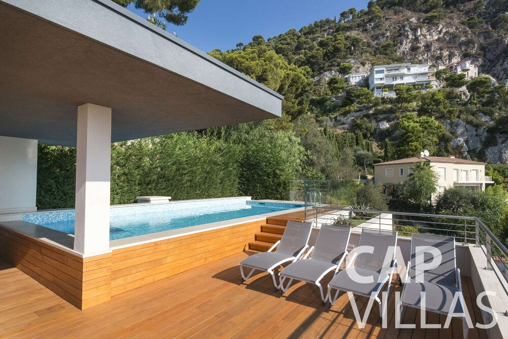 villa for sale villefranche terrace with pool