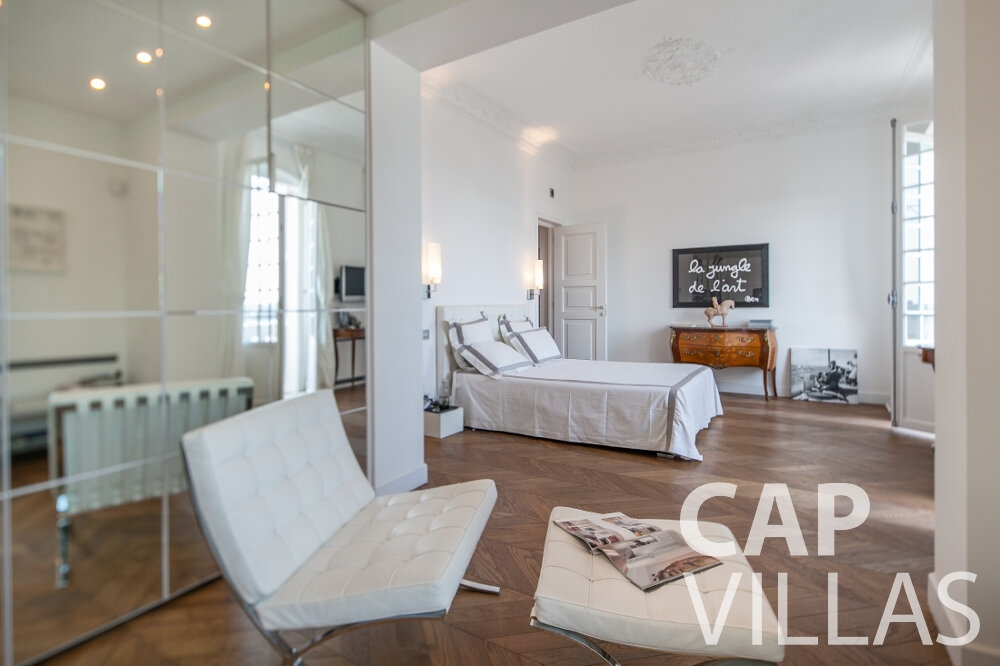 holiday rental Villa Senna villefranche bedroom