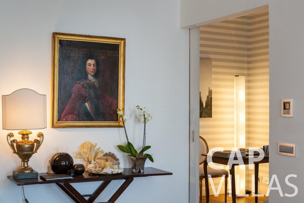 rent Villa Senna villefranche room