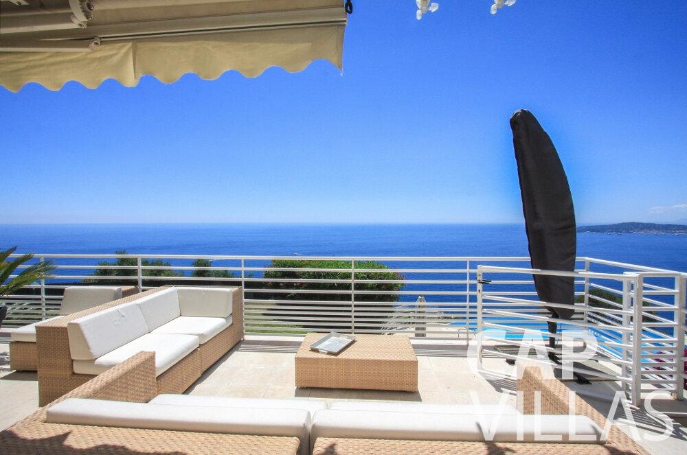 let Villa Delphine cap dail terrace
