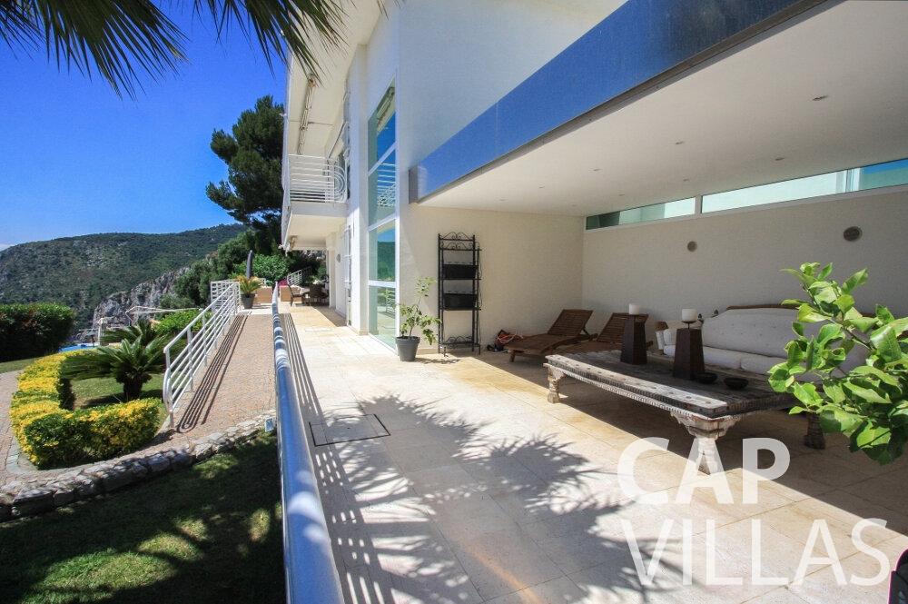 rent Villa Delphine cap dail terrace