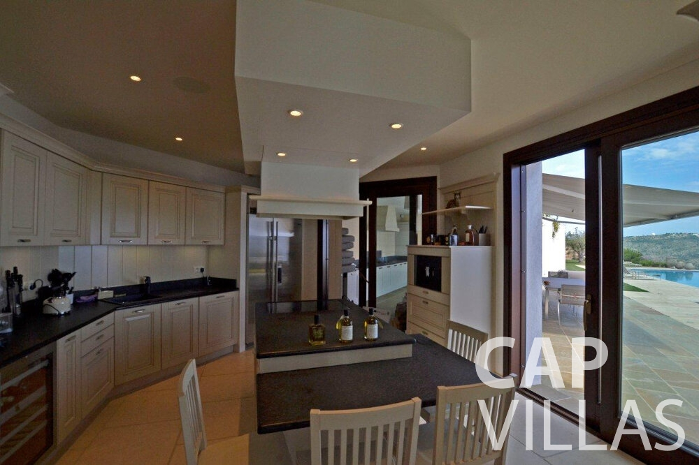 rent Villa Iris cap dail kitchen