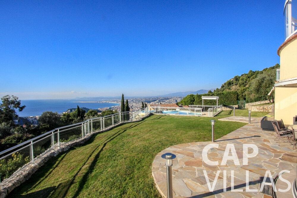let Villa Fiorello villefranche terrace