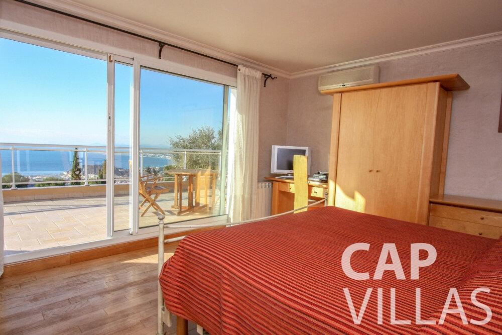 rent Villa Fiorello villefranche bedroom