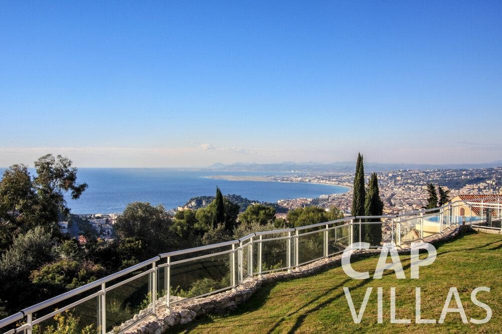 rent Villa Fiorello villefranche sea view