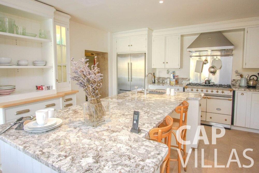 villa for sale cap de nice kitchen