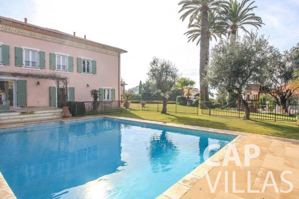 villa for sale cap de nice swimming pool