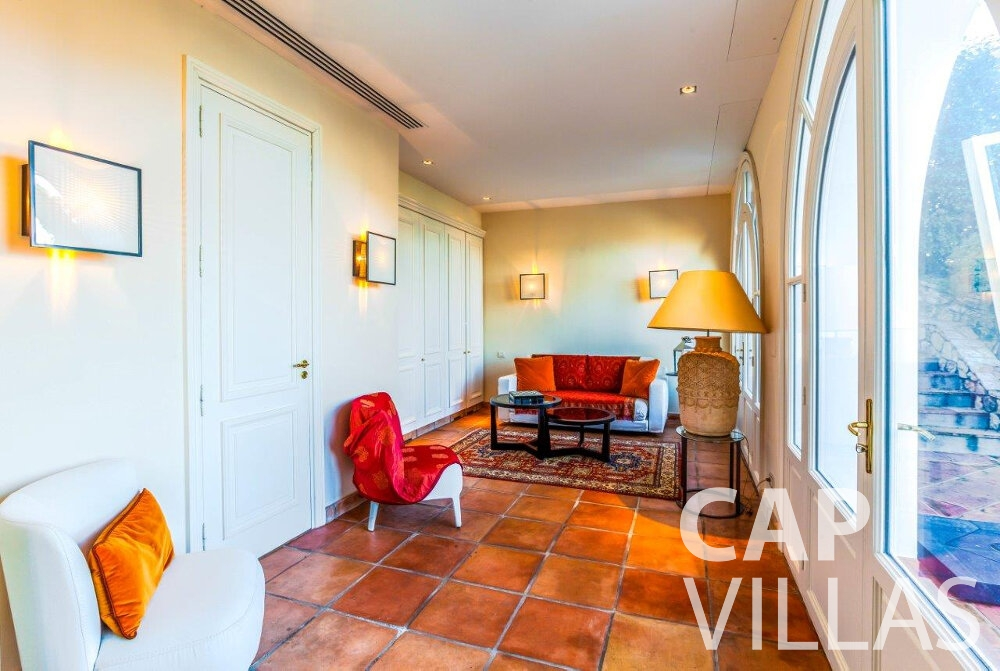 holida rental Villa Aster cap ferrat living area