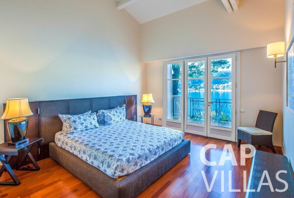 rent Villa Aster cap ferrat bedroom