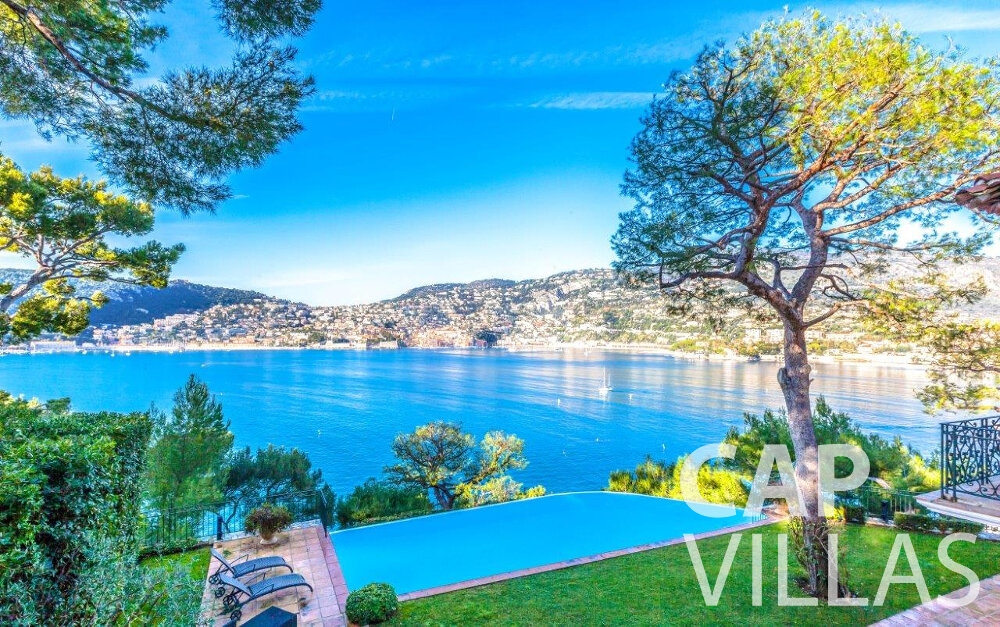 rent Villa Aster cap ferrat sea view