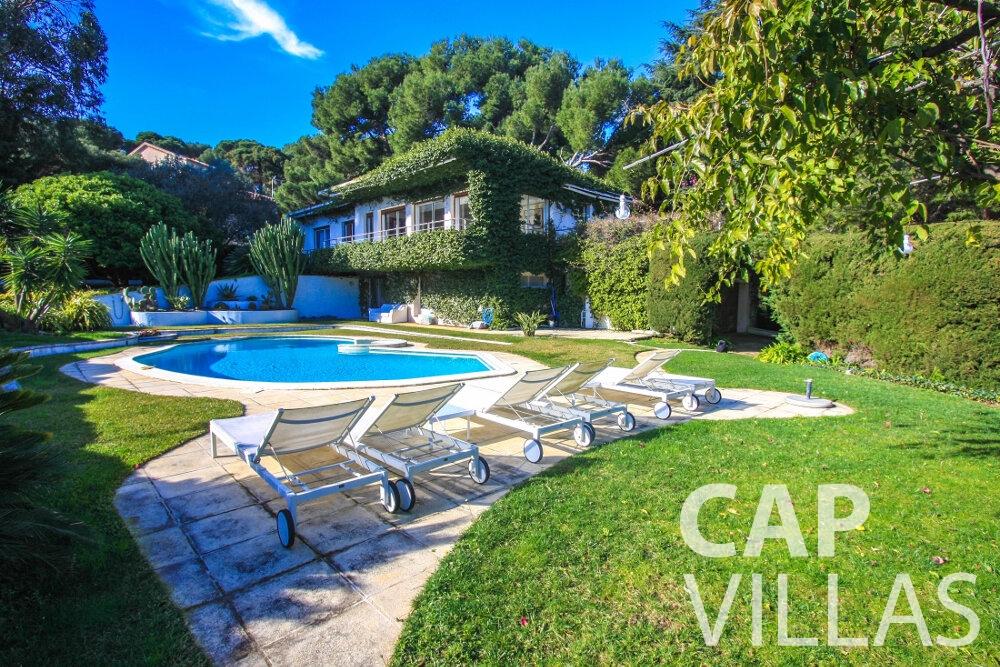 let Villa Fleur cap ferrat property