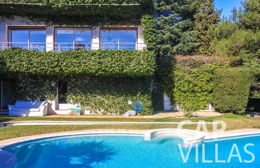 rent Villa Fleur cap ferrat property