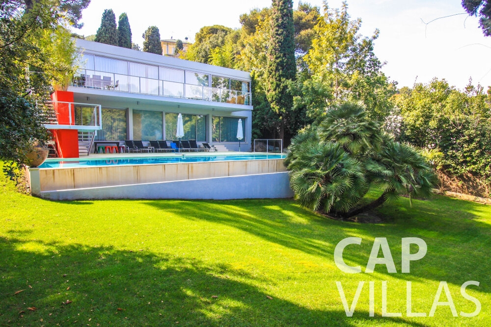 holiday rental Villa Ivy cap ferrat property