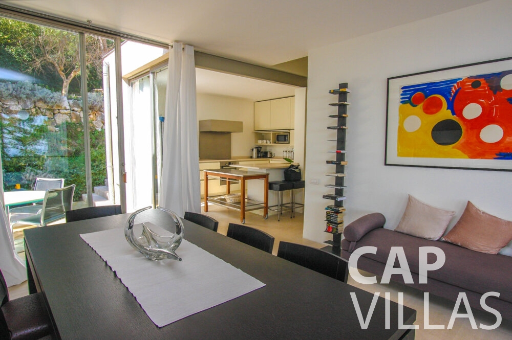 holiday rental Villa Lavender cap ferrat living room