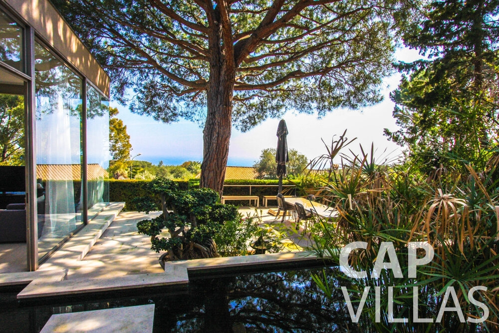 holiday rental Villa Lavender cap ferrat terrace