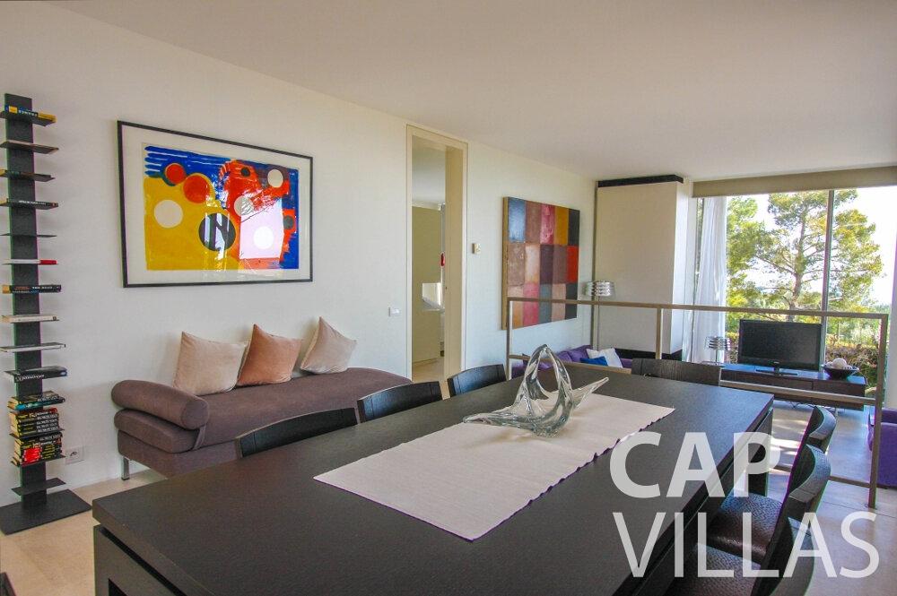 rent Villa Lavender cap ferrat living room
