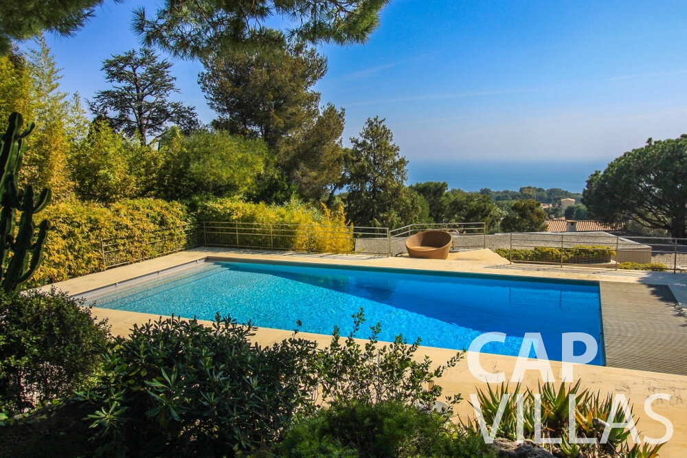 rent Villa Lavender cap ferrat sea view