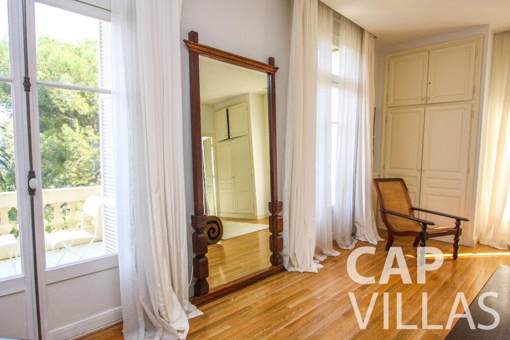 rent Villa Antonio cap ferrat bedroom