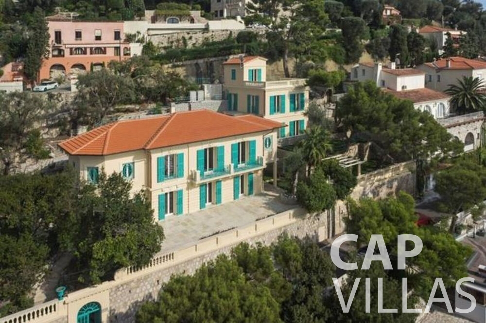 villa for sale aerial view
