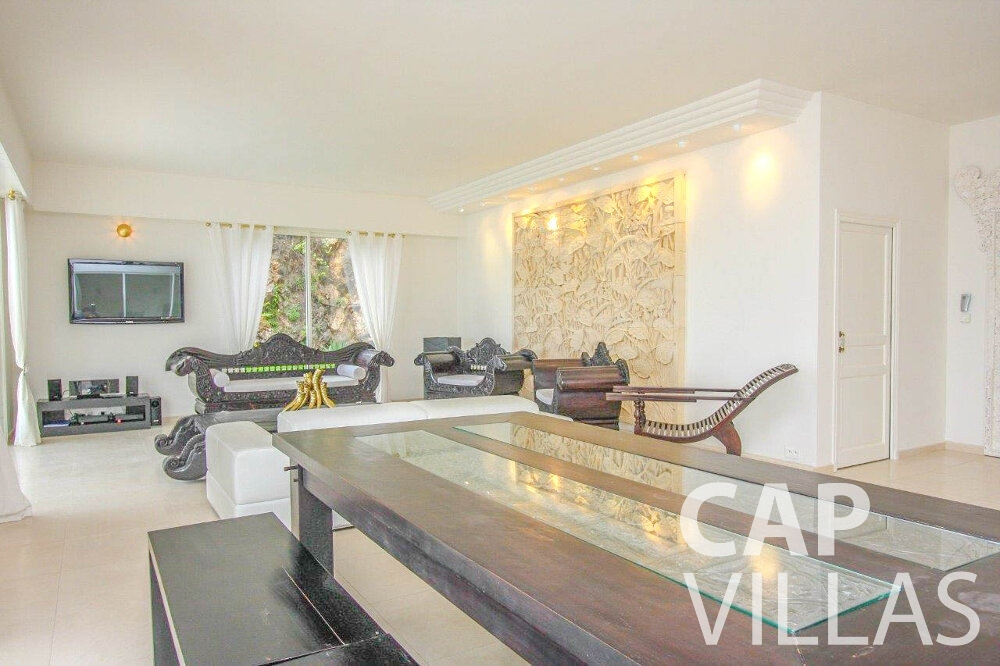holiday rental Villa Marigold cap de nice living room