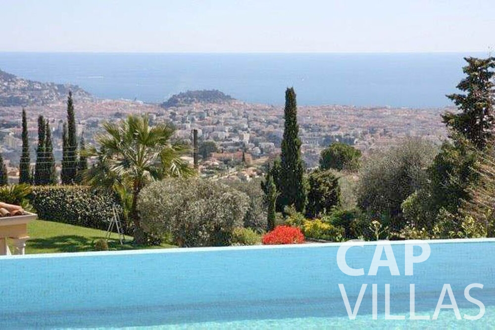 rent Villa Marigold cap de nice sea view