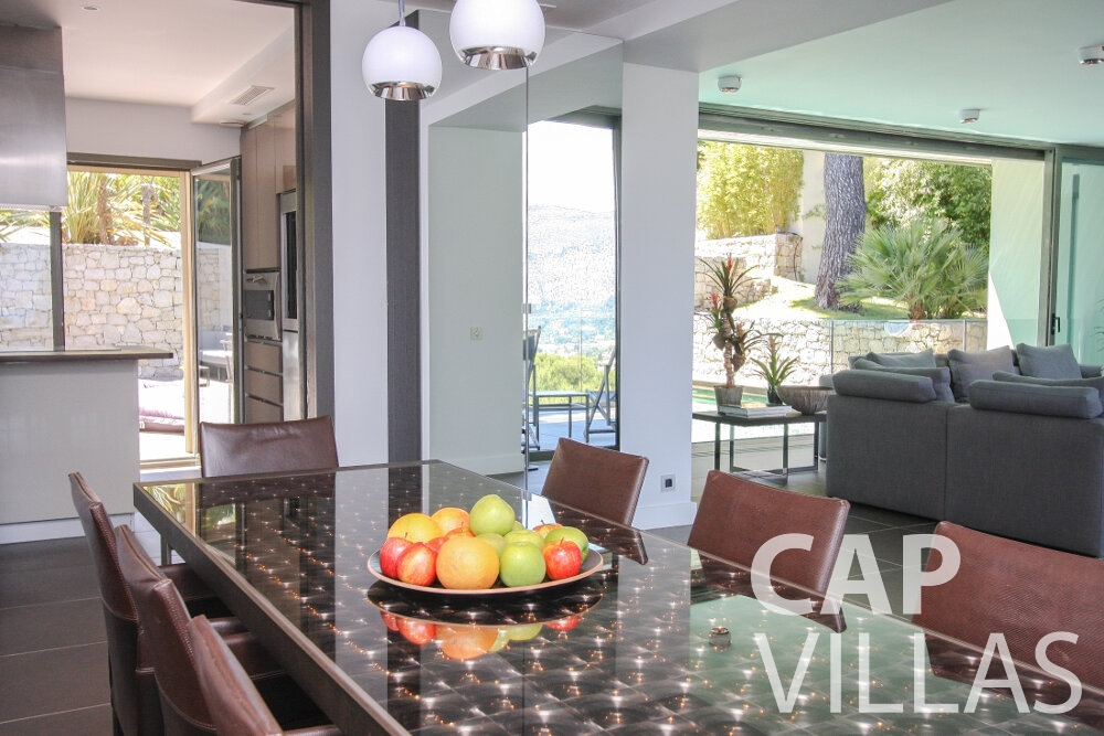 holiday rental Villa Petal cap de nice living room