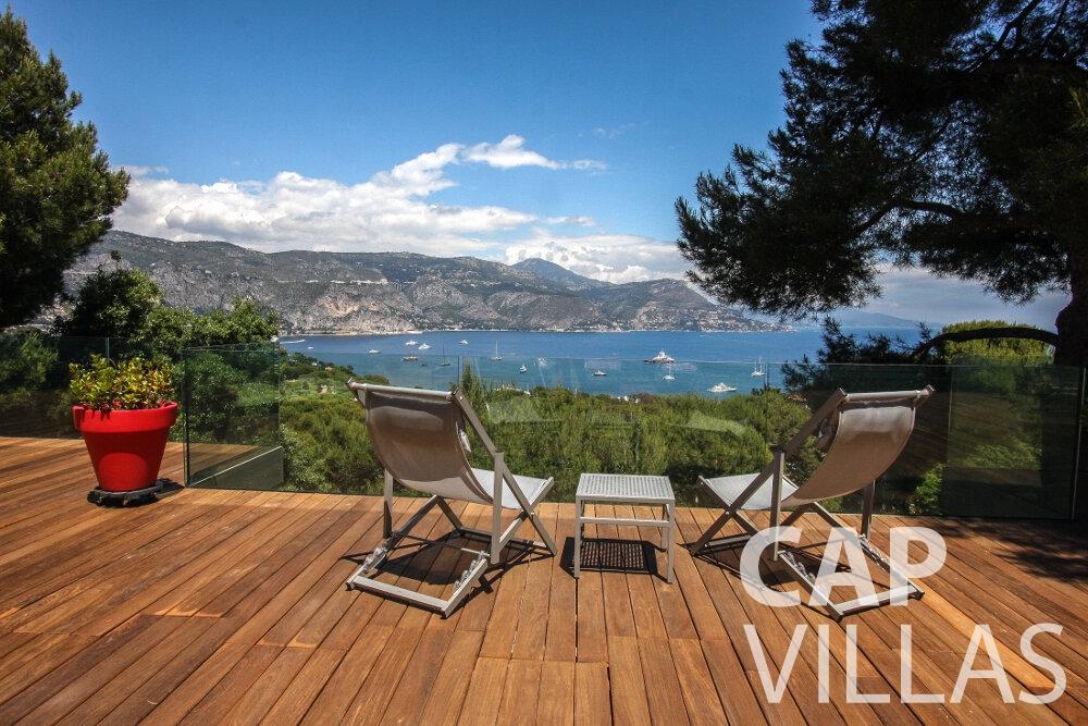 let Villa Petal cap de nice balcony