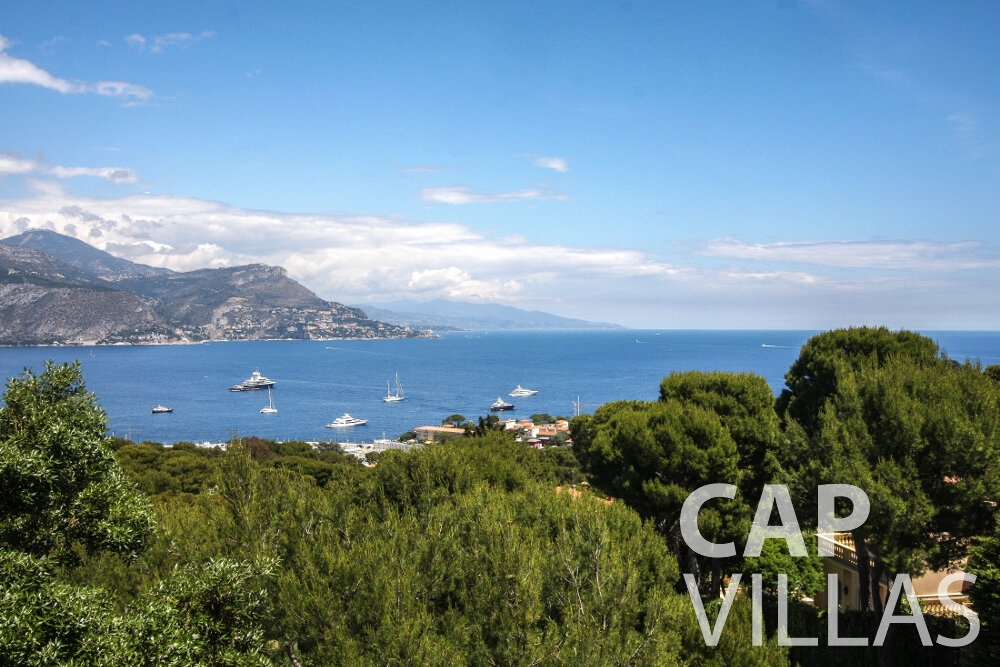 rent Villa Petal cap de nice sea view