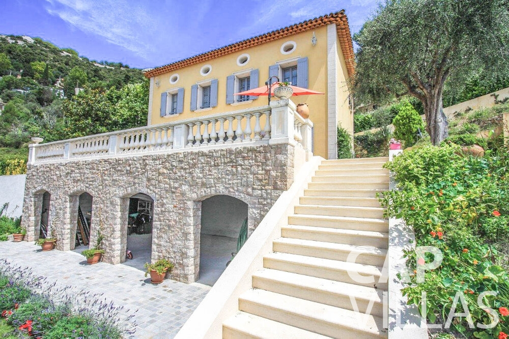 villa for sale eze property view