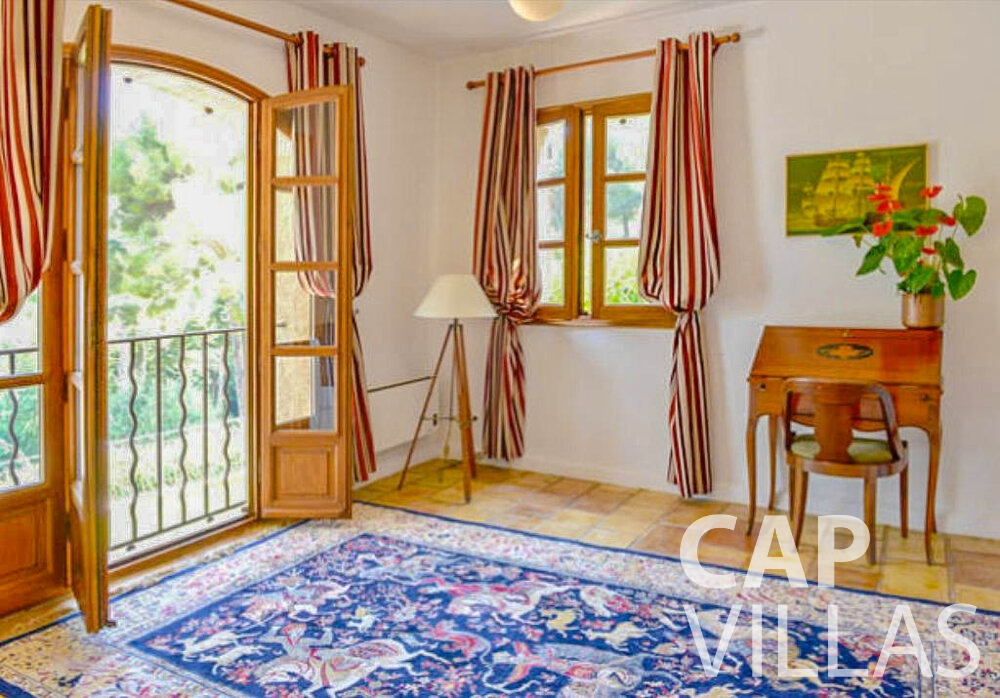 holiday rental Villa Primrose cap martin roquebrune bedroom