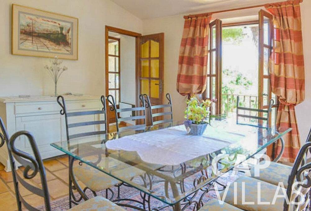 let Villa Primrose cap martin roquebrune dining room