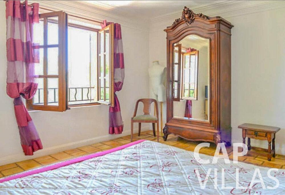 rent Villa Primrose cap martin roquebrune bedroom
