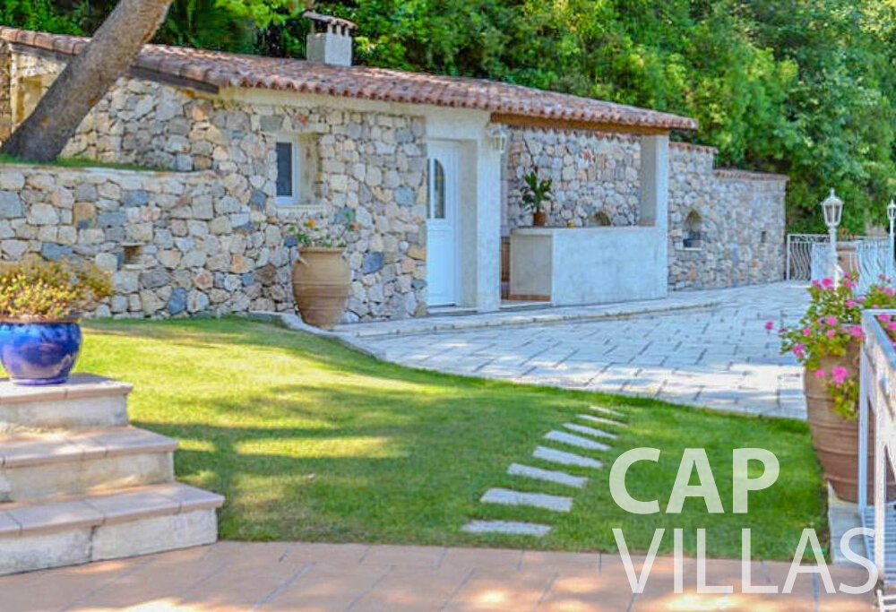 rent Villa Primrose cap martin roquebrune outdoors