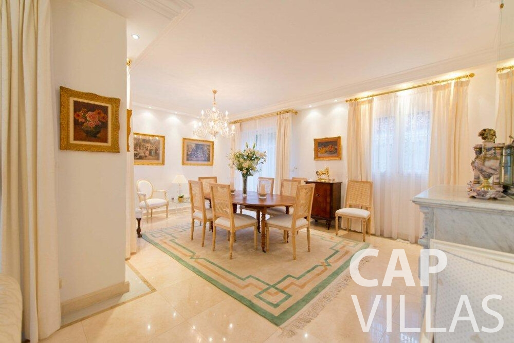 holiday rental Villa Violet cap ferrat living room