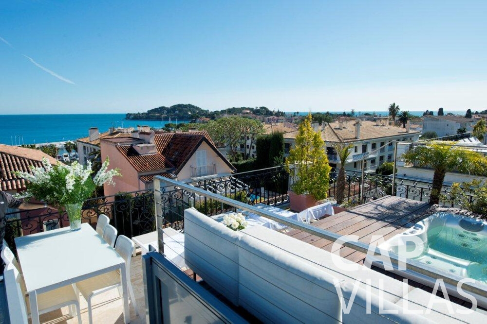 holiday rental Villa Violet cap ferrat rooftop