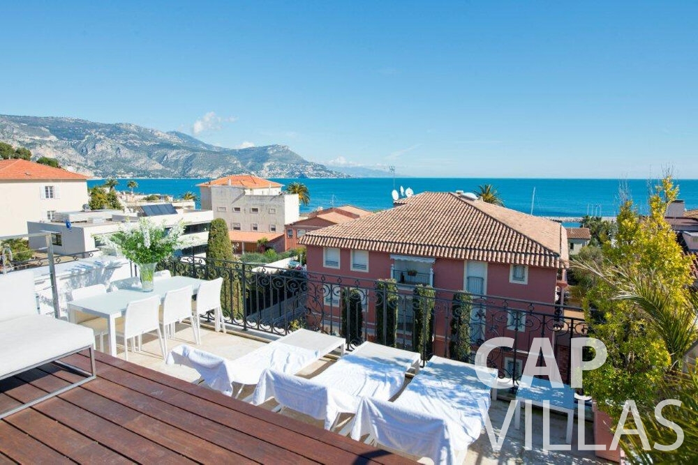 let Villa Violet cap ferrat rooftop