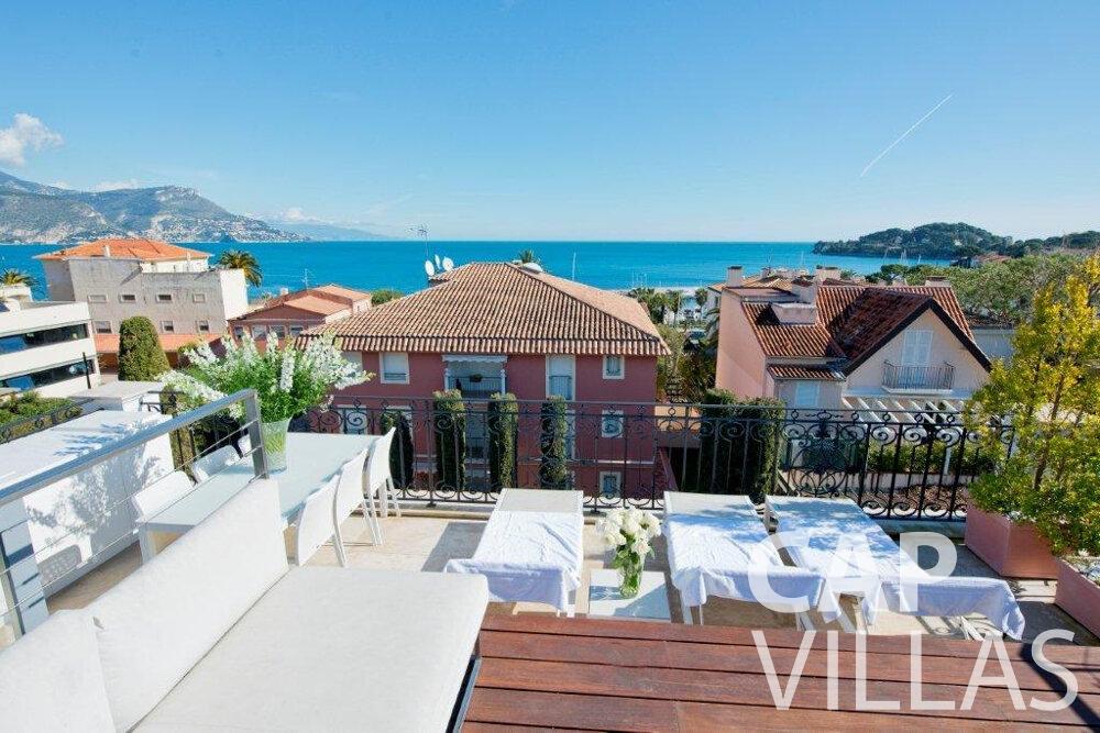 rent Villa Violet cap ferrat rooftop