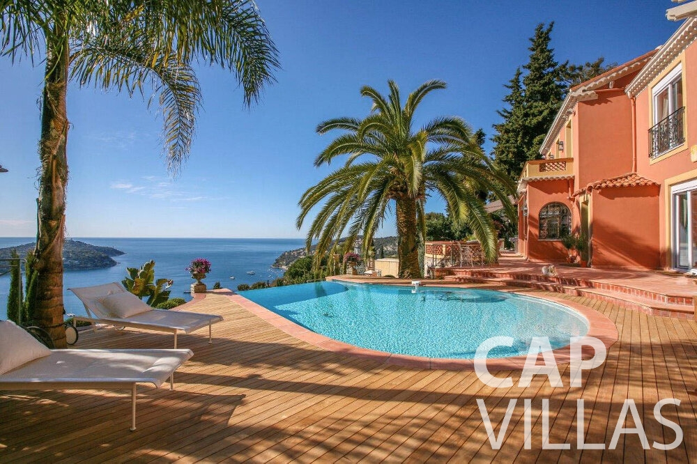 holiday rental Villa Azalea villefrenche swimming pool