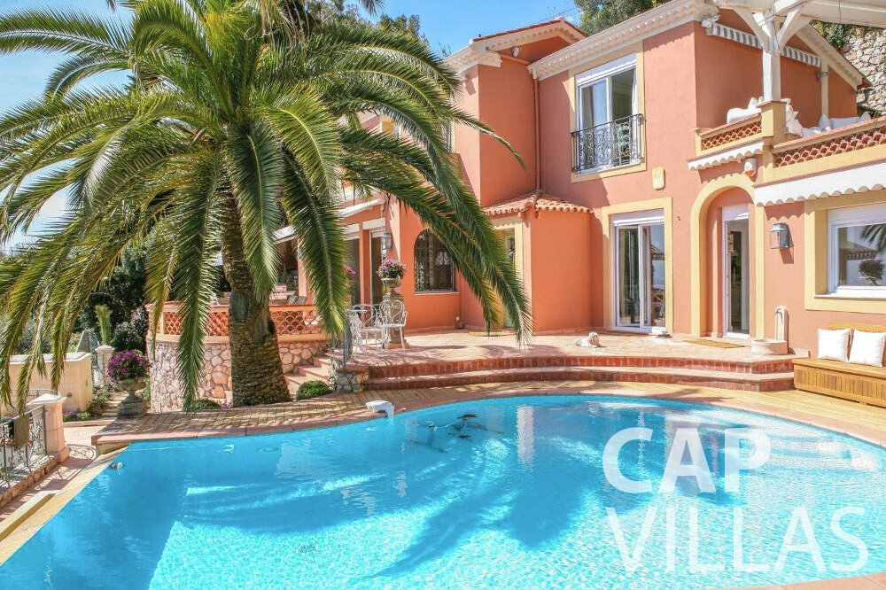 rent Villa Azalea villefrenche swimming pool